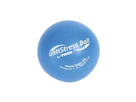 TOGU Anti-Stress Boll, 6,5 cm, blå.