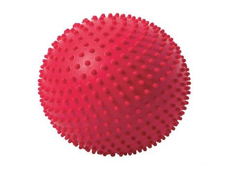 TOGU Knobbly Catch träningboll, 22cm, röd.
