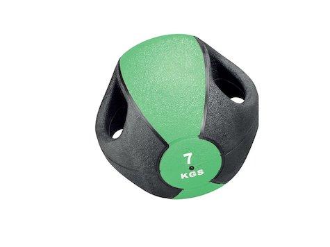 Esfera Boll med Handtag, 7 kg, Grön, ø28cm.
