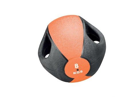 Esfera Boll med Handtag, 8 kg, Orange, ø28cm.