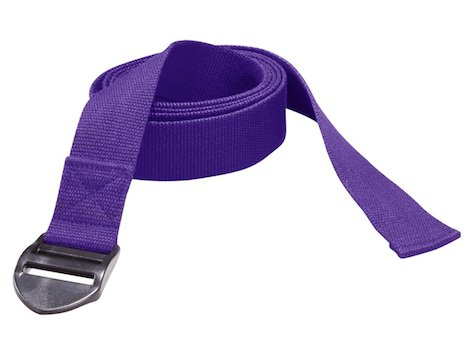 Yoga bälte 190 x 4 x 0,2 cm Lila