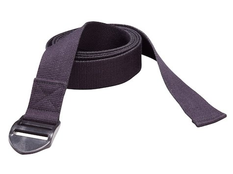 Yoga bälte 190x4x0,2cm Antracit