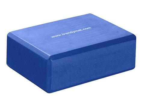 Yoga Block 23x15x7,5cm Blå