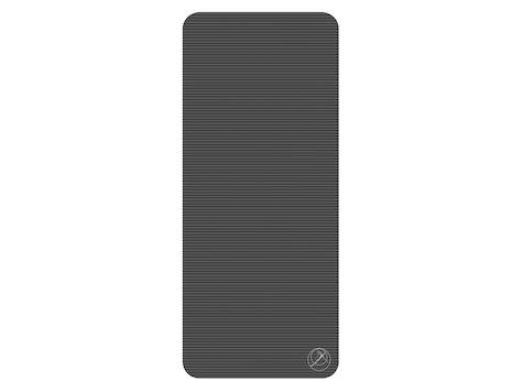 ProfiGymMat (antracit) 180 x 60 x 1,5cm, svart.